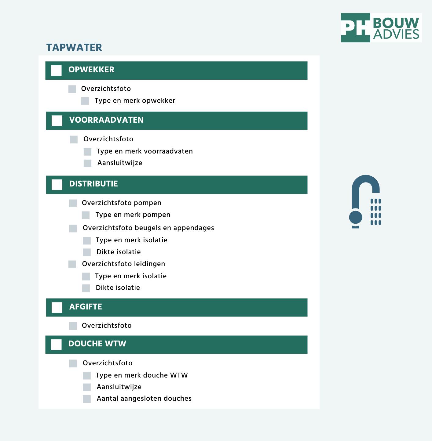 Ingenieursbureau PH Bouwadvies stelde een checklist op van alle foto's die moeten worden aangeleverd in een BENG projectdossier - download hem hier