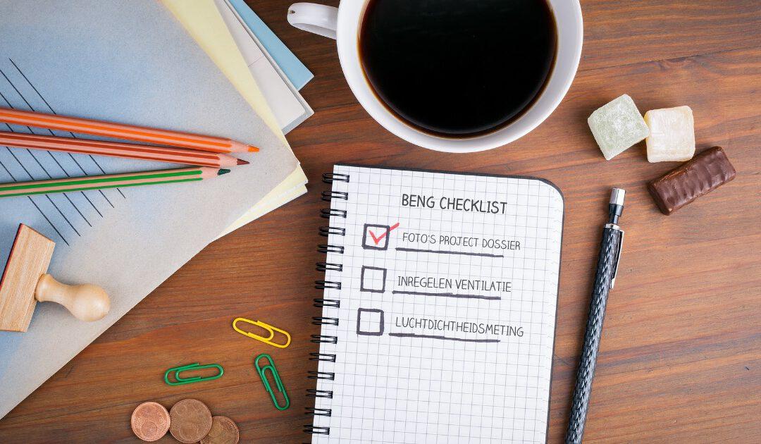 Foto checklist oplevering BENG: deze foto's mogen niet ontbreken in je projectdossier