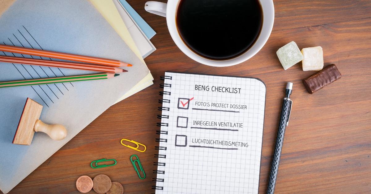 Een omgevingsvergunningaanvraag moet vanaf 1 januari voorzien zijn van een BENG projectdossier. Wat moet hierin staan? Download de checklist van ingenieursbureau PH Bouwadvies